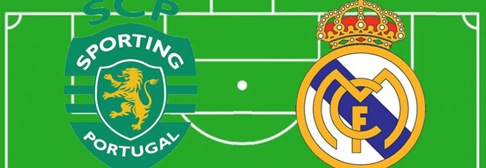 Champions: Sporting CP y Real Madrid.