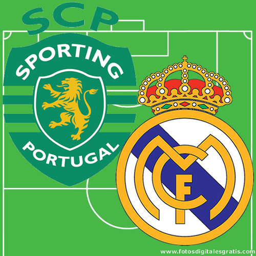Champions: Sporting y Real Madrid.