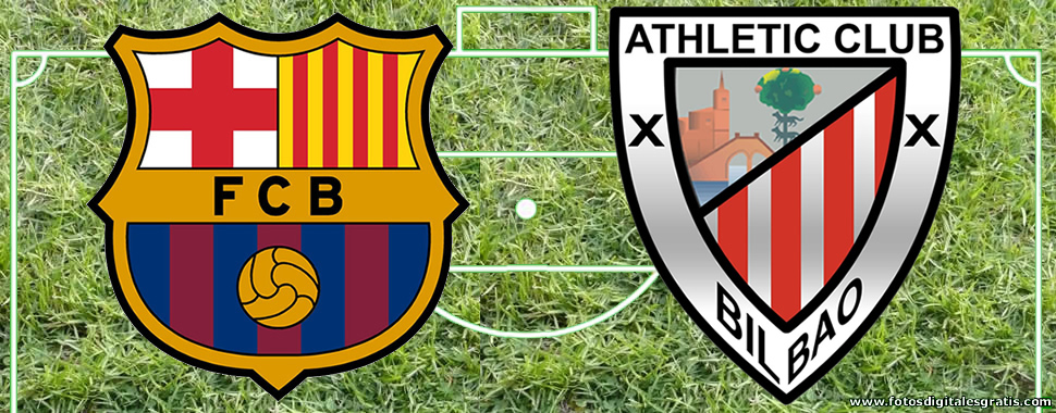 Horario y dónde ver en TV el FC Barcelona y Athletic Club de Copa del Rey.